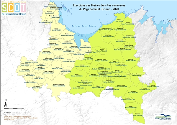 carte maires pays
